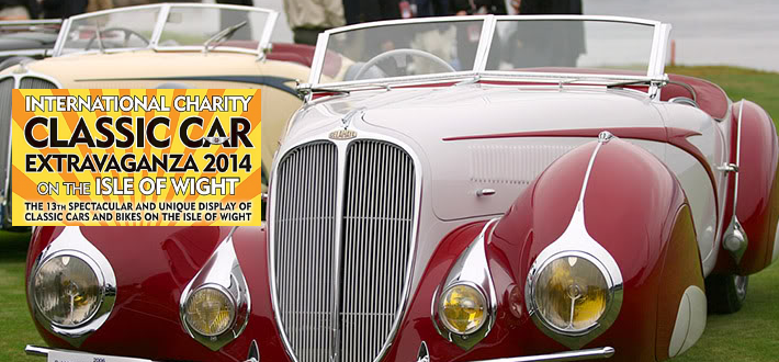Classic Car Extravaganza 2014 Isle of Wight Event